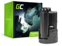 Akumulátor Green Cell Cell® pre náradie Bosch PMF PSM PSR 10,8 LI-2 10,8 V 1,5 Ah