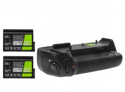 Grip Green Cell MB-D12H pre fotoaparát Nikon D800 D800E D810 D810A