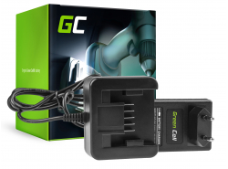 Green Cell ® Werkzeug Akku-Ladegerät 21V für Milwaukee 18V Li-Ion M18 C18B M18B M18B2 M18B4 M18B5 M18B6