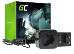 Green Cell ® Werkzeug Akku-Ladegerät C12 C 12.6V für Milwaukee 10.8-12V Li-Ion C12B M12B2 M12B3 M12B4 M12B6 M12BD