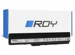 RDY Batéria A32-K52 pre Asus A52 A52F A52N K42 K52 K52D K52F K52J K52JB K52JC K52JE K52JR K52N X52 X52F X52J X52N