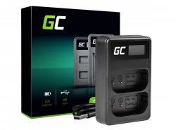 Duálna nabíjačka Green Cell® LI-50C pre Olympus LI-50B, SZ-15 SZ-16 Tvrdá 6000 8000 TG-810 TG-820 TG-830 TG-850 VR-370 XZ-1