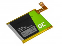 Batéria Green Cell ® 1-756-769-11 pre systém prenosných čítačiek Sony PRS-500 oraz PRS-505 Ebook Reader
