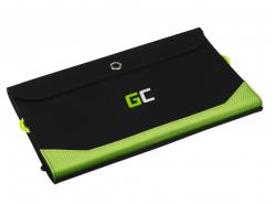 Solárna nabíjačka Green Cell GC SolarCharge 21W - Solárny panel s funkciou Powerbank 10000 mAh USB-C Power Delivery 18W USB-A QC